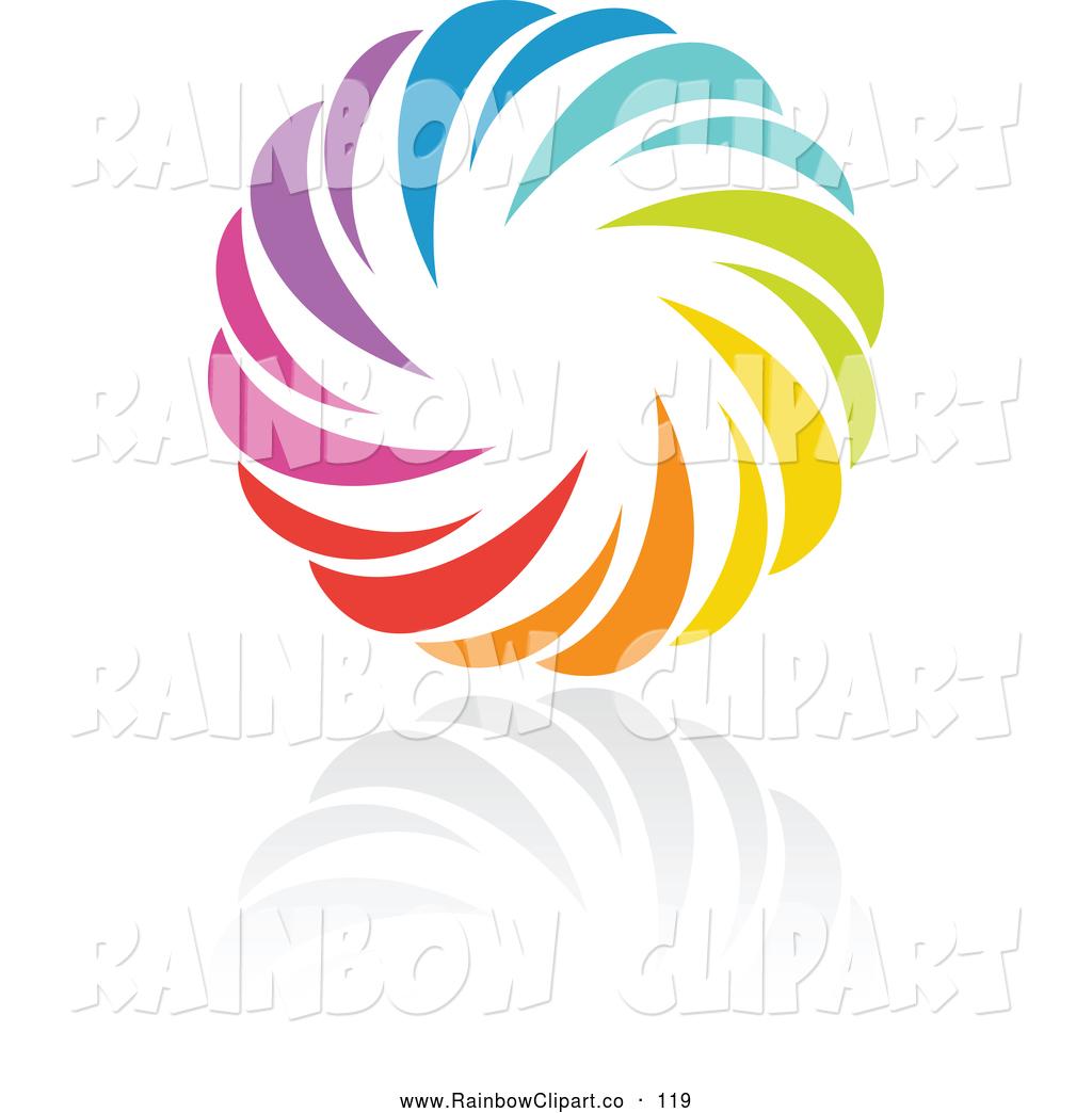 1024x1044 Vector Clip Art Of A Rainbow Circle Logo Design Or App Icon