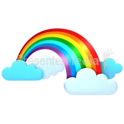 400x400 Rainbow Clip Art