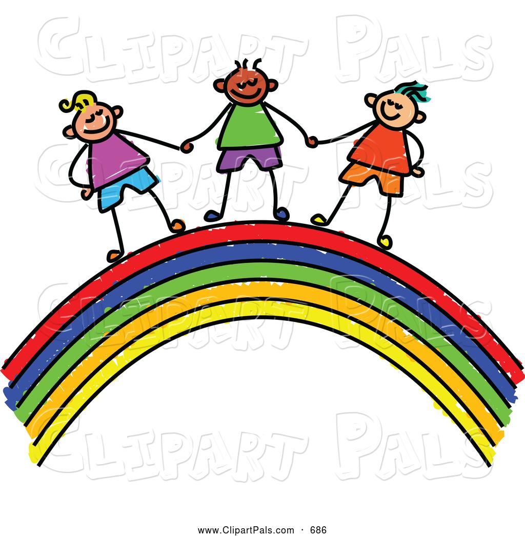 1024x1044 Top 66 Rainbow Clip Art