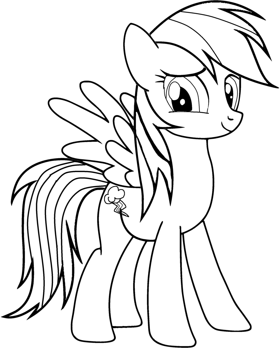 900x1119 My Little Pony Coloring Pages