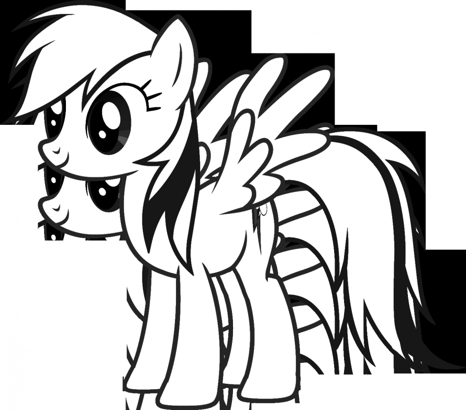 940x828 Rainbow Dash Colouring Pages Kids Coloring Pages Coloring Pages My