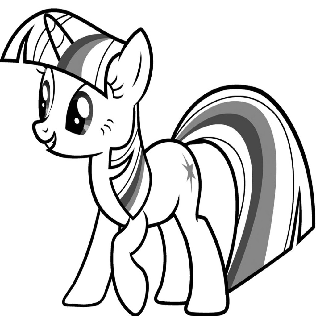 Rainbow Dash Coloring Page | Free download on ClipArtMag