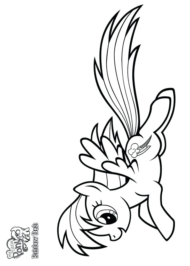 736x1030 Amazing Wonderful Coloring Pages Of Rainbow Dash Image Best My