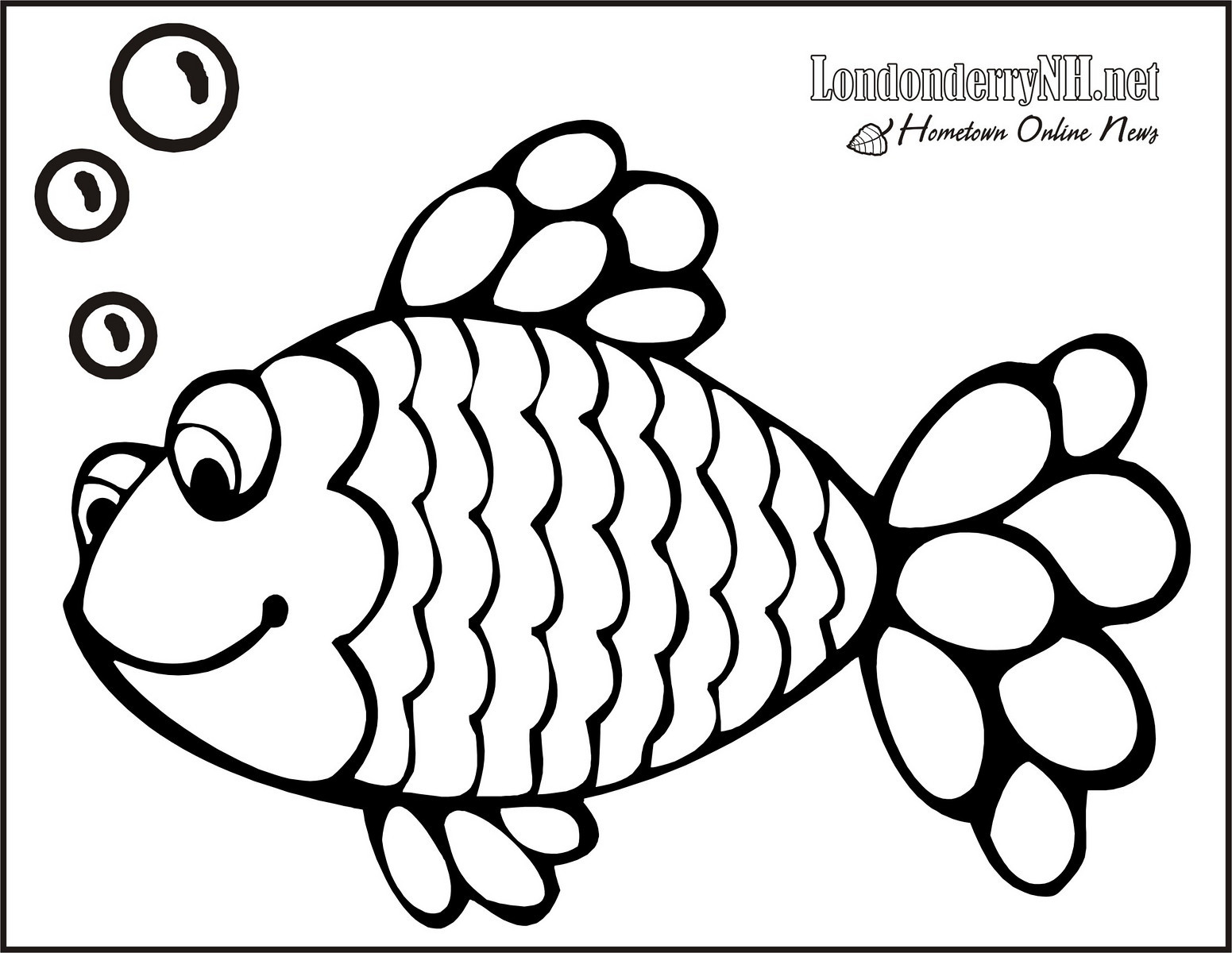 1551x1200 Draw Printable Fish Coloring Pages 90 For Kids With