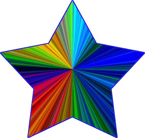 500x475 Graphics For Rainbow Of Stars Free Graphics