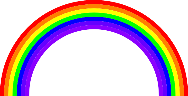 600x307 Rainbow Free To Use Clipart 3