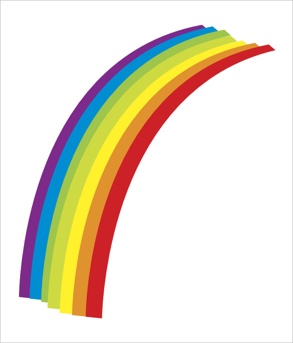 585x685 Rainbow Templates Free Pdf Documents Download Free