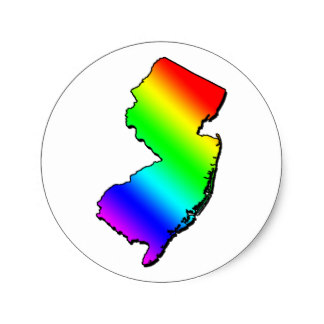 324x324 Outline Of New Jersey Stickers Zazzle