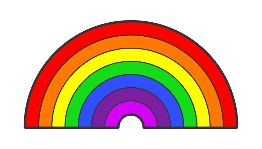 877x500 What Are The Colors In The Rainbow Sciencing