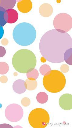 Rainbow Polka Dot Wallpaper Clipart Free Download Best