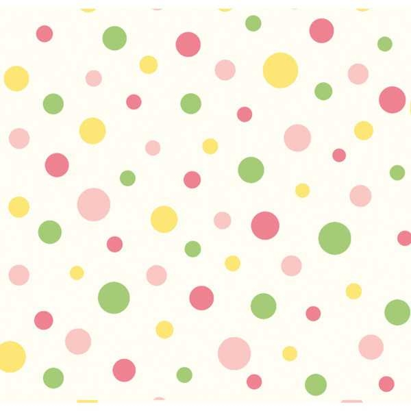Pink Polka Dot Wallpaper: Rainbow Polka Dot Wallpaper Clipart