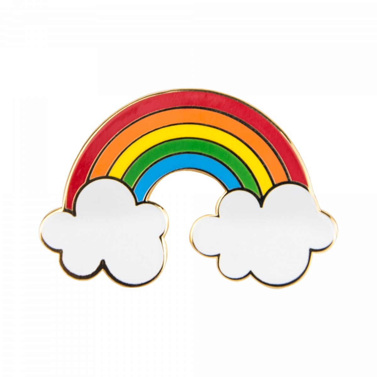1200x1200 Rainbow With Clouds Pin Ohh Deer