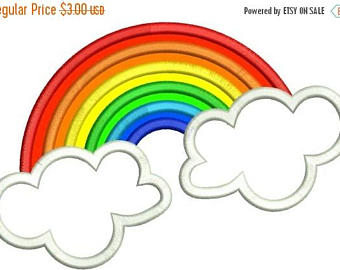 340x270 Rainbow and clouds Etsy