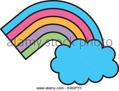 418x320 Cartoon Dream Cloud Stock Vector Art Amp Illustration, Vector Image