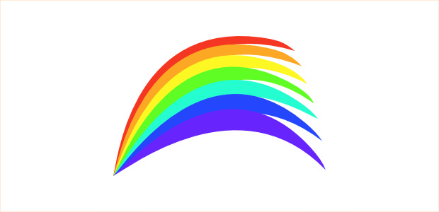 620x300 Cloud rainbow clip art free vector for download about