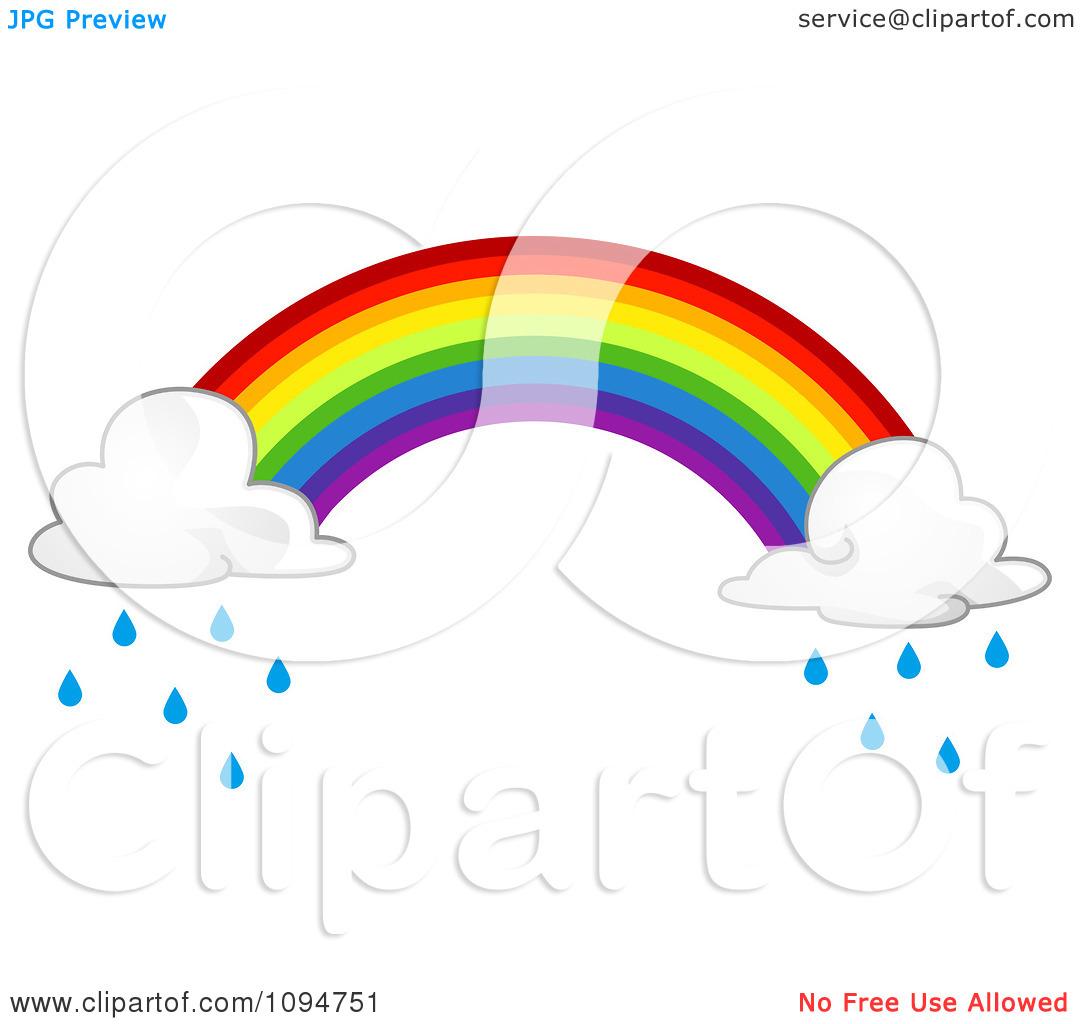 1080x1024 Rainbow Raindrops Clip Art – Cliparts
