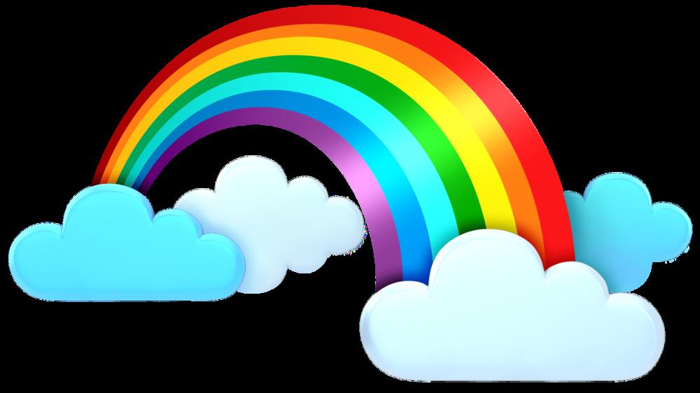 1000x562 Rainbow Clipart Weather