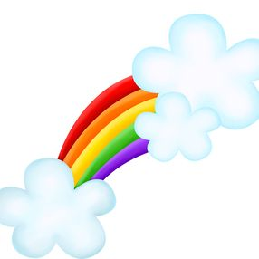 286x286 27 Best Rainbow Clip Images Beautiful, Cards