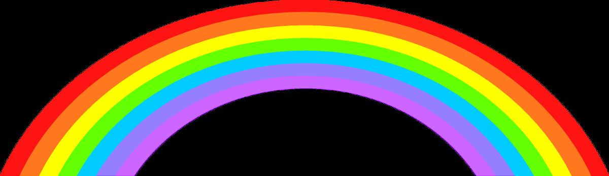 1200x347 Rainbow Clip Art