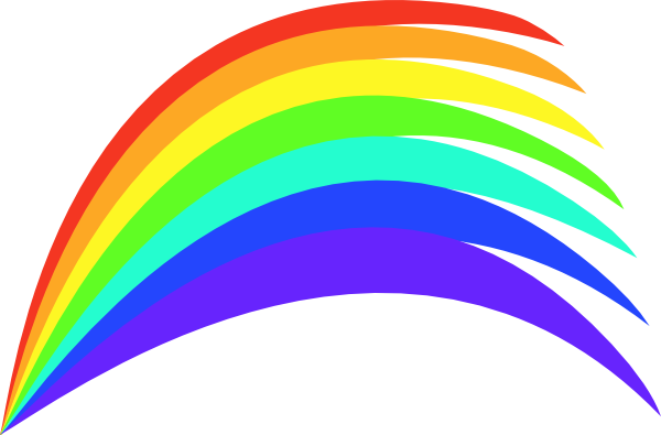 600x395 Cartoon Rainbow Clipart#2141916