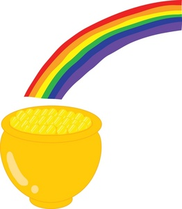 262x300 Pot Of Gold Clipart Image