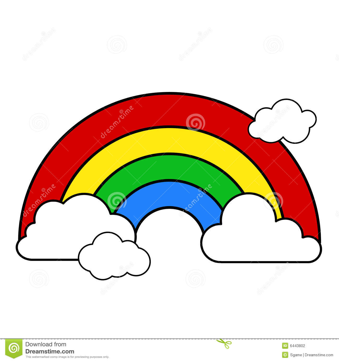 1300x1390 Black And White Rainbow Clipart Collection