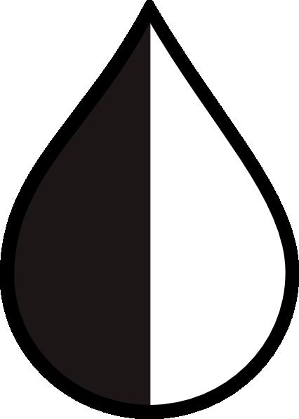 426x596 Half Raindrop Clip Art