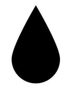 246x300 Raindrop Clip Art Clipart Image