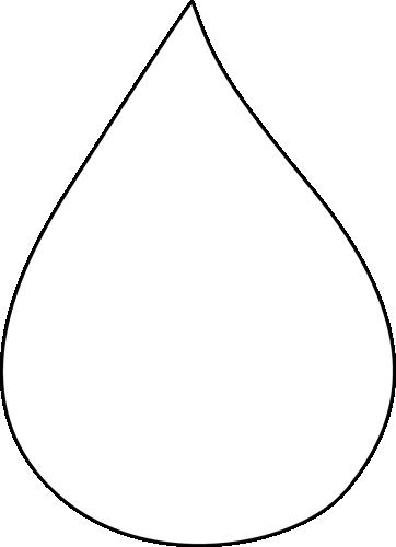 362x500 Clip Art Raindrop Clipart Image 3