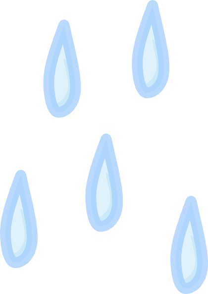420x593 Raindrop Black And White Clipart 3 Image