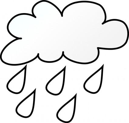 425x404 Raindrop Black And White Clipart