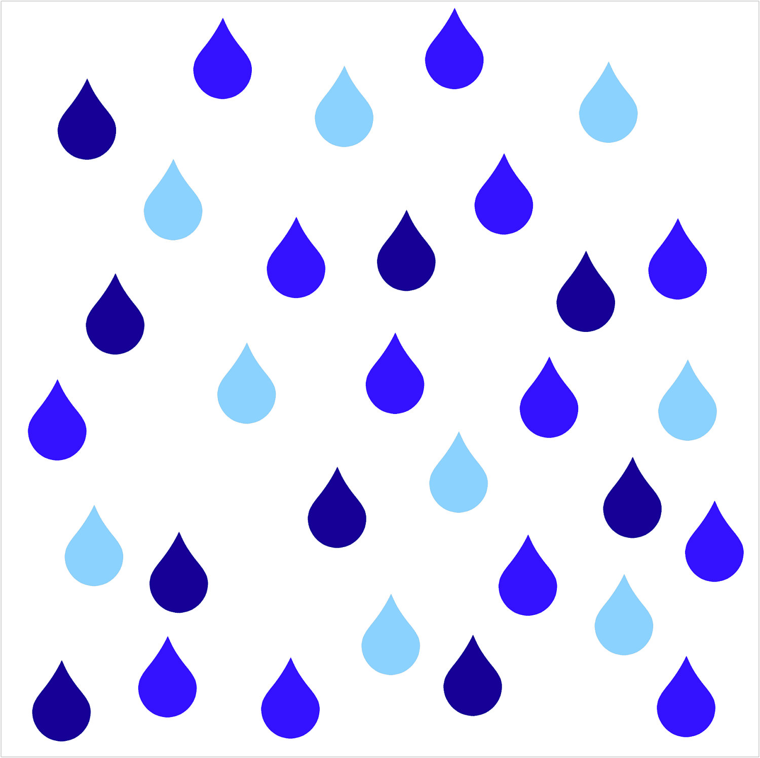 image about Printable Raindrops named Raindrop Define Free of charge down load easiest Raindrop Determine upon