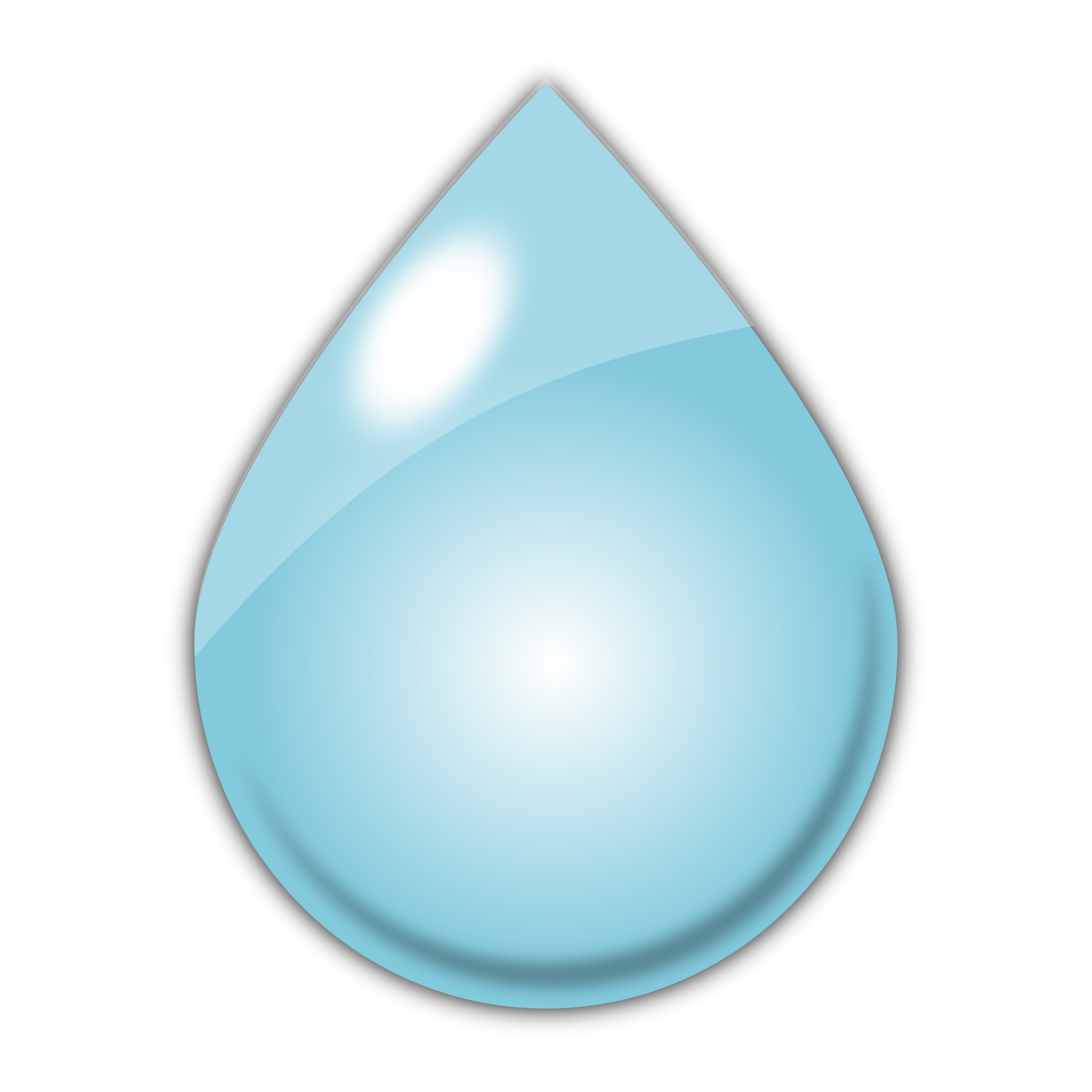 2400x2400 Blue Water Clipart Raindrop 2528764