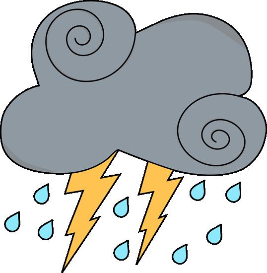 538x550 Rain Clipart Illustration
