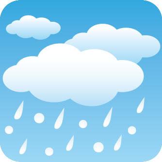 334x335 Rain Clipart Sleet