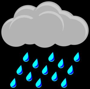 299x297 Sky Clipart Rain Cloud