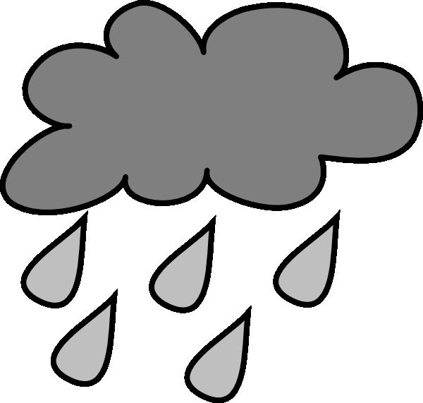 600x571 Cartoon Rain Clouds