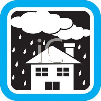 350x350 Raining On A House