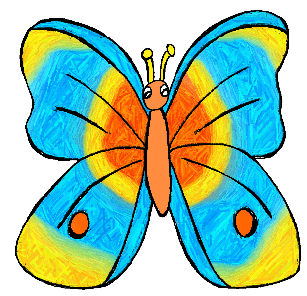 621x600 Animal Butterfly Cliparts Many Interesting Cliparts