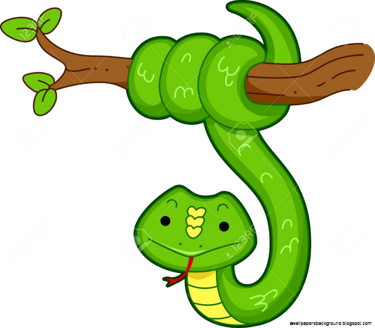 1235x1079 Rainforest Clipart Rainforest Snake