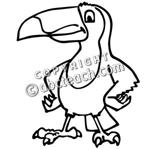 300x300 Rainforest Clipart Toucan