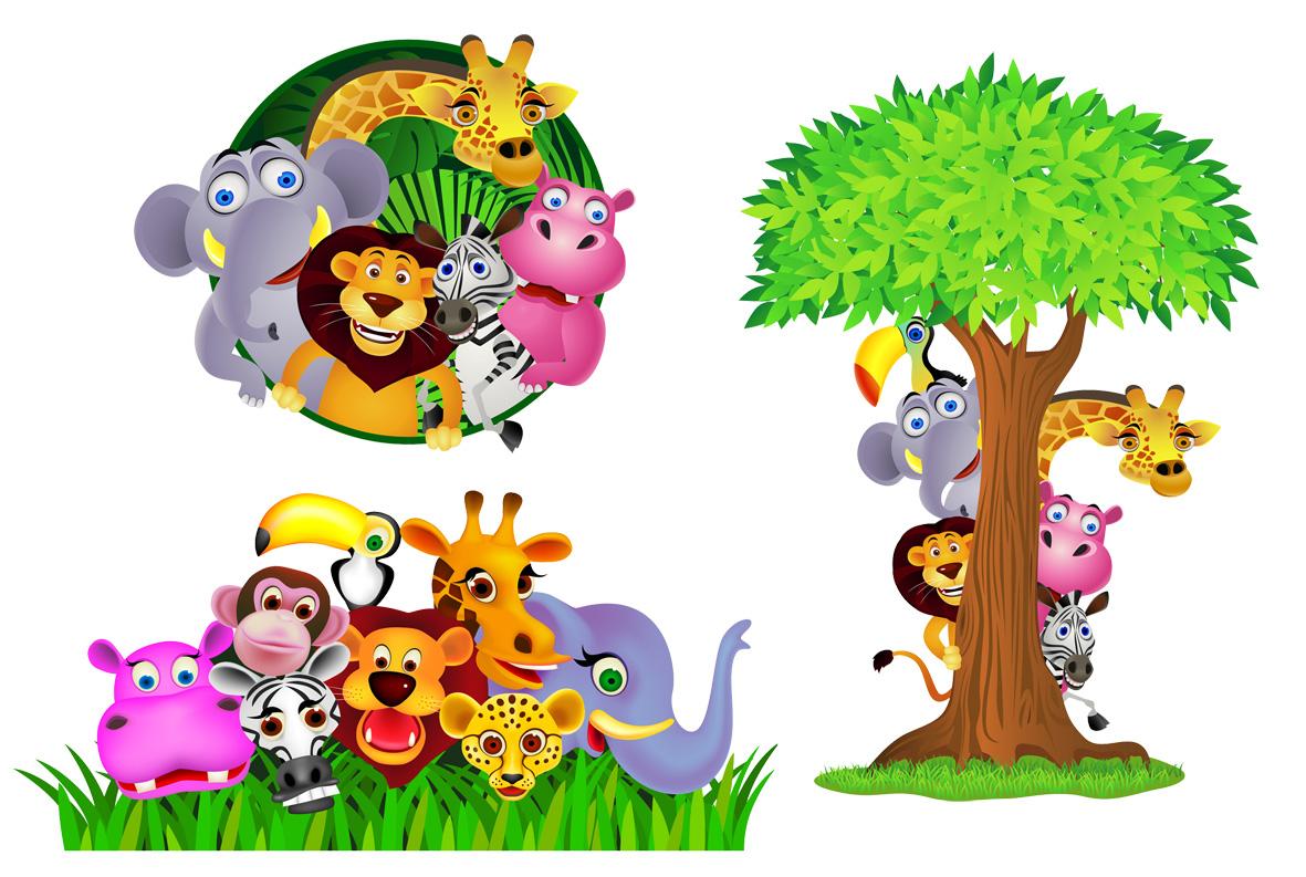 1181x793 Safari Clipart Child Background