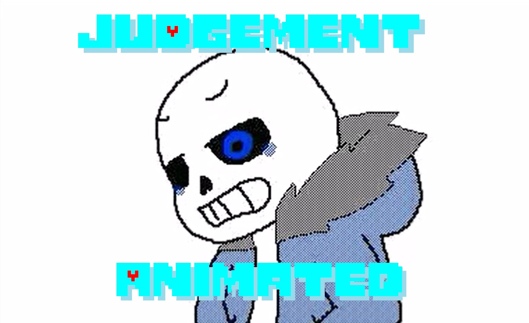 1712x1046 Sans Song Judgement Animated (Undertale Animation)