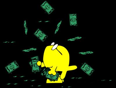 400x304 Image Download Raining Money