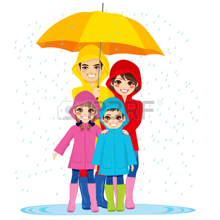 450x450 Cloudy Day And Raining Clipart