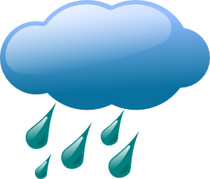 300x256 Rain Cloud Clip Art