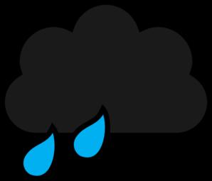 298x255 Rain Clipart Vector