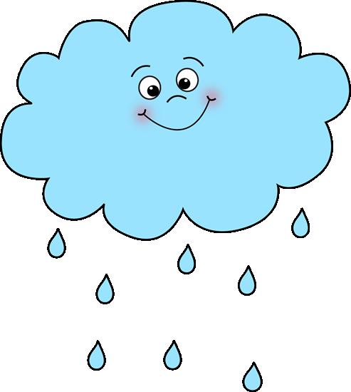 493x550 Cute Spring Rain Clipart