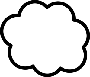 298x255 Cloud Rain Blue Clip Art