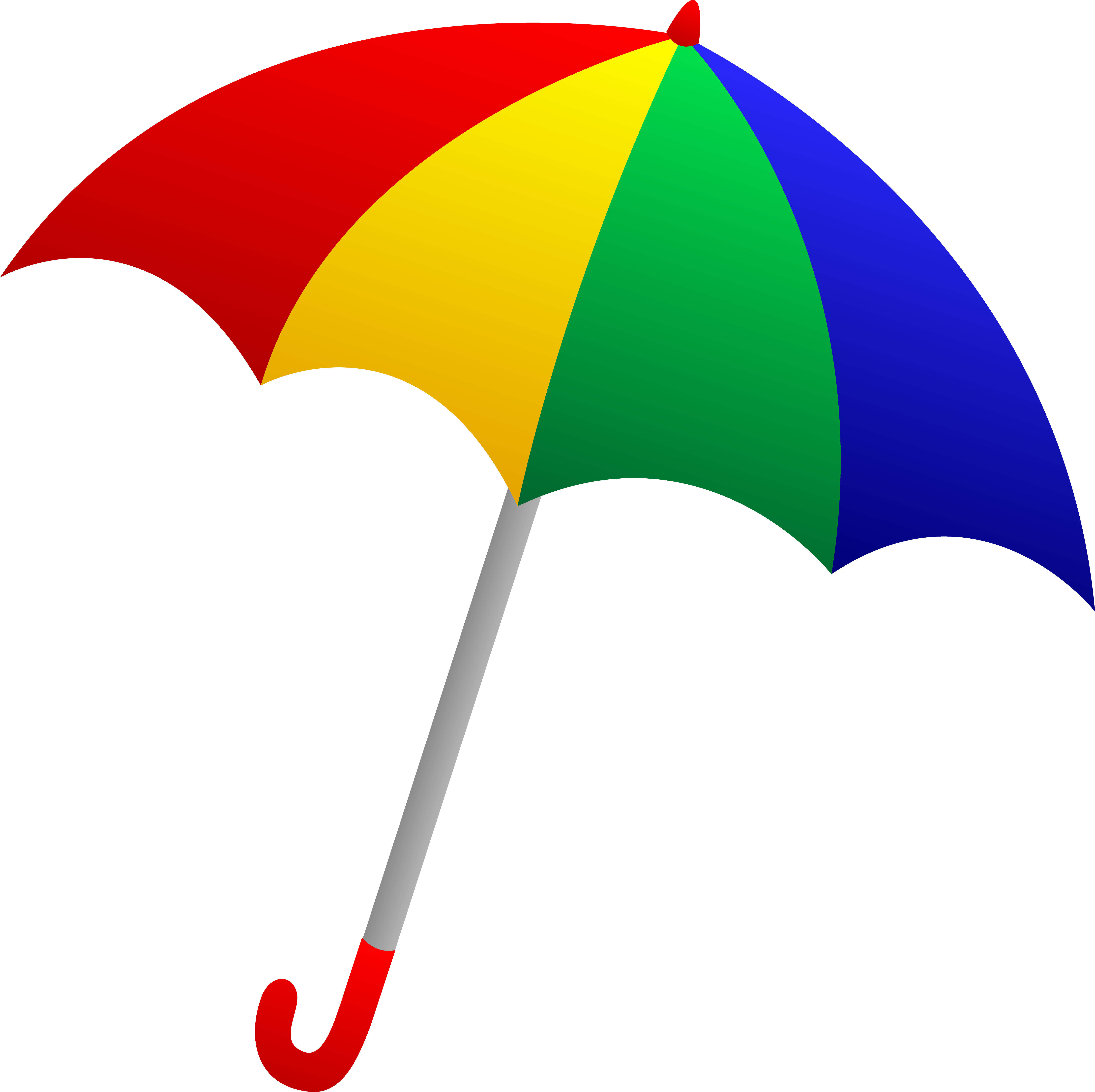6607x6590 Colorful Rain Umbrella